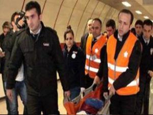Taksim metrosunda 'güvenlik' dehşeti