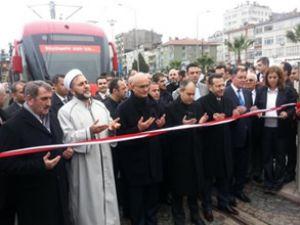 Kılıç, ilk açılışını 'tramvay' için yaptı