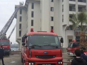 Çeşme'de otelde yangın çıktı