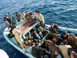 Yunanistan'da kaçak göçmenler yakalandı