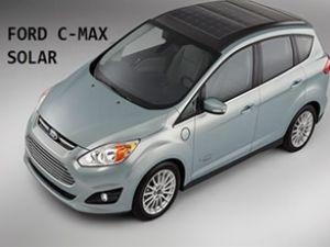 Ford, C-Max Solar'ı tanıtmaya hazırlanıyor