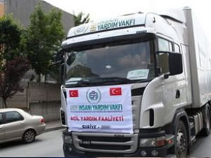 İHH, Suriye'ye bin adet TIR gönderiyor