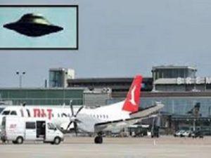 Bremen Havalimanı'nda 'Ufo' alarmı