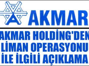 Akmar Holding'den operasyon açıklaması