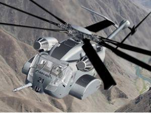 İngiltere'de askeri helikopter düştü