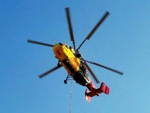 İstanbul'a 'alev kartalı' yangın helikopteri