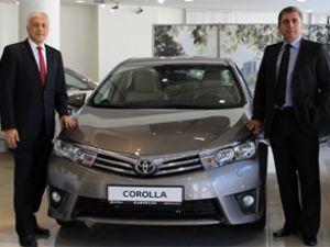 Toyota modelleri Diyarbakır'da tanıtıldı