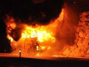 Tokat'ta 47 yolcu ölümden döndü