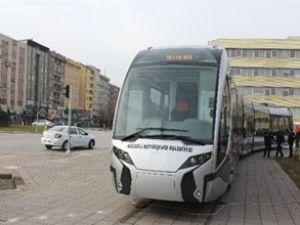 Kocaeli'nin tramvayı görücüye çıktı