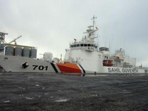 TCSG Dost, Hopa Limanı'na demir attı
