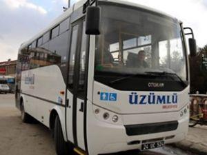 Üzümlü Belediyesi'ne yeni halk otobüsü