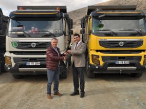 SNH İnşaat, 4 Volvo kamyon sipariş etti