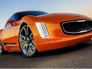 Kia, Detroit Fuarı'nda 'GT4 Stinger'ı tanıttı