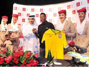 Pele, Emirates'in küresel temsilcisi oldu