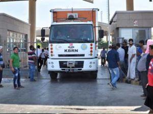 Gaziantep'teki sınır kapısı geçişe kapatıldı