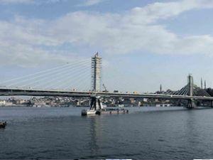 Haliç Metro Köprüsü'nde sona gelindi