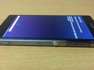 Sony'nin yeni telefonunun ilk fotoğrafı