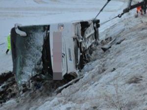 Kayseri'de otobüs şoförü gözaltında