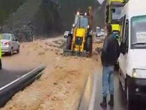Muğla-Fethiye karayolu ulaşıma kapandı