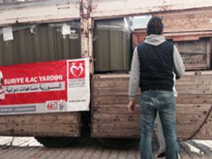 Suriyeli çocuklar için ilaçlar yolda