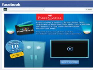 Faber-Castell'den Facebook uygulaması