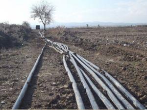 Suriye sınırında kaçak 5 akaryakıt hattı