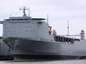Kimyasalları imha edecek gemi yola çıktı