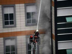 İstanbul Vizyon Park'ta yangın söndürüldü