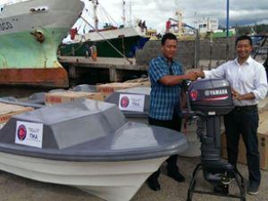 TİKA'dan Solomon Adaları'na 4 adet motor