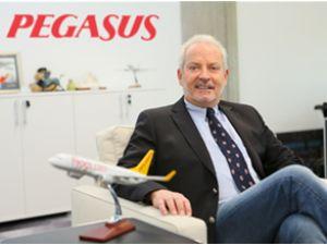 Pegasus'un yolcu sayısı 16.8 milyon oldu
