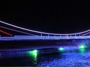Bayburt'un Boğaziçi Köprüsü göz kamaştırıyor