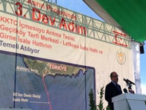 Türkiye, asrın projesinde 3. temeli de attı