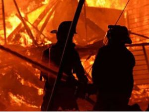 Kargo şirketinde yangın: 1 ölü, 4 yaralı