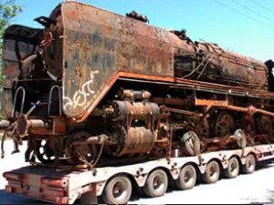 TCDD'den alınan tren Bolu'da sergileniyor