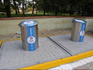 İzmir Aliağa'da çöpler yerin altına iniyor
