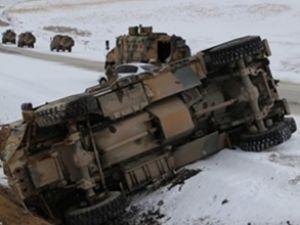 Van'da askeri araç kaza yaptı: 3 şehit