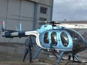 İzmir polisine yeni helikopter