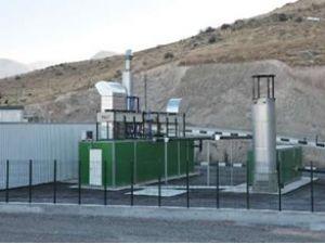 Malatya'da metan gazından santral