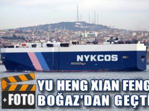 Yu Heng Zian Feng, Boğazdan geçti