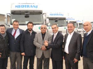 Mersinler Lojistik'e 20 Renault kamyon