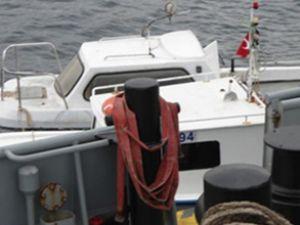 Bodrum'da 13 metrelik tur teknesi battı
