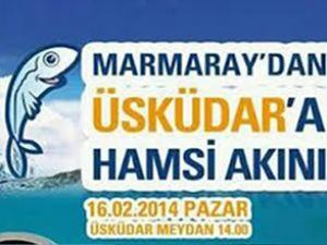 Marmaray'da hamsi şenliği düzenlenecek