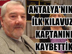 Kaptan Atilla Muşkara hayatını kaybetti
