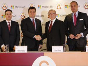 Galatasaray, Microsoft ile anlaştı
