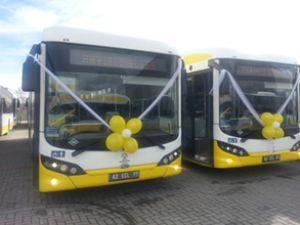 Bozankaya'dan Konya'ya 60 adet otobüs