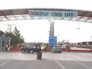 Sınır kapısında büyük patlama