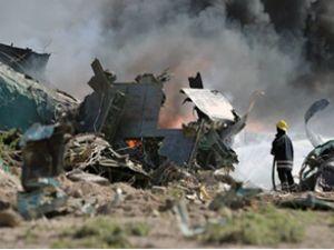 Libya askeri nakliye uçağı Tunus'ta düştü