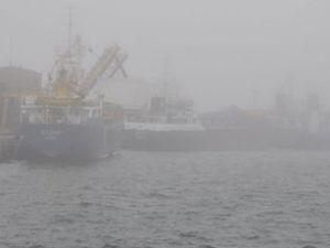 Karadeniz'de deniz ulaşımına sis engeli