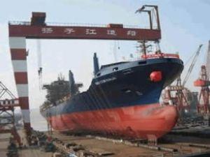 Çin'in gemi ihracatı 2013 yılında düştü
