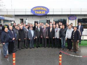 Bursa'da taksi durakları modernize ediliyor